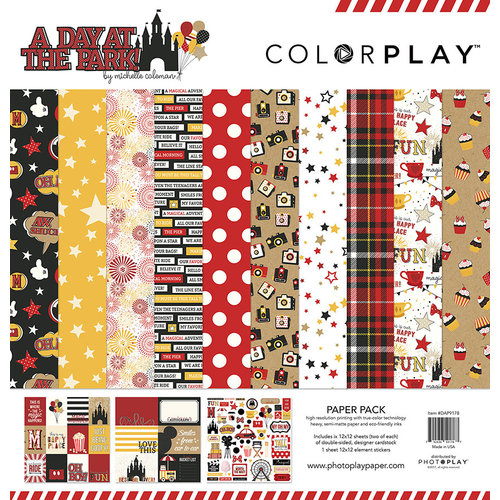 Color Play - A Day At The Park Collection - 12 x 12 Collection Pack
