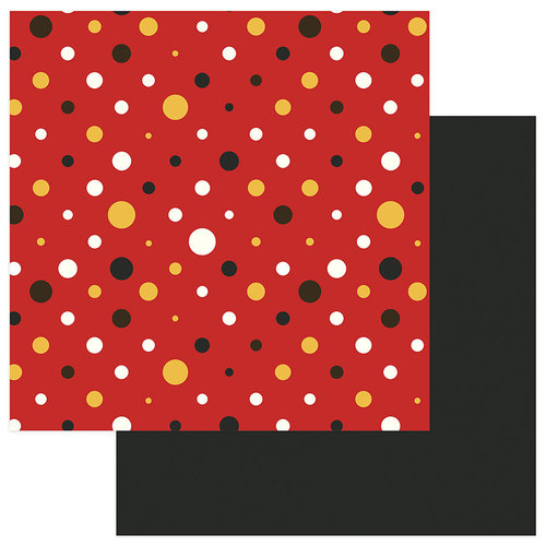 Photo Play Paper - A Day At The Park Collection - 12 x 12 Double Sided Paper - Solids Plus - Red