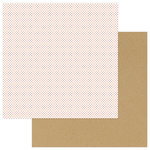Photo Play Paper - A Day At The Park Collection - 12 x 12 Double Sided Paper - Solids Plus - Red Dot
