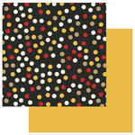 Photo Play Paper - A Day At The Park Collection - 12 x 12 Double Sided Paper - Solids Plus - Multi Dot