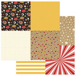 Photo Play Paper - A Day At The Park Collection - 12 x 12 Double Sided Paper - Tiny Prints - Quad 3-4
