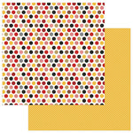 Photo Play Paper - A Day At The Park Collection - 12 x 12 Double Sided Paper - Tiny Prints - Multi Dot