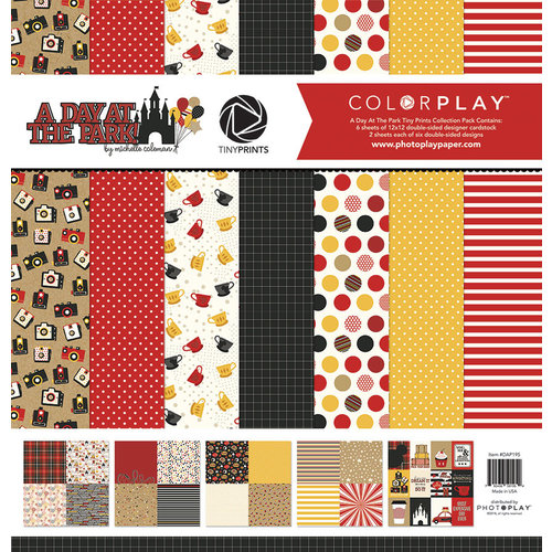 Photo Play Paper - A Day At The Park Collection - 12 x 12 Collection Pack - Tiny Prints