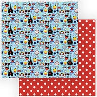 Photo Play Paper - Another Day at the Park Collection - 12 x 12 Double Sided Paper - Mouse House