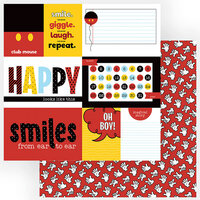 Photo Play Paper - Another Day at the Park Collection - 12 x 12 Double Sided Paper - Club Mouse