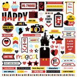 Photo Play Paper - Another Day at the Park Collection - Elements 12 x 12 Cardstock Stickers