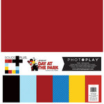 Photo Play Paper - Another Day at the Park Collection - 12 x 12 Paper Pack - Solids Plus