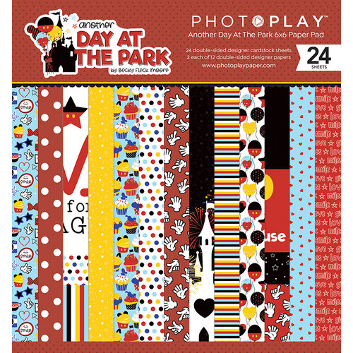 Photo Play Paper - Another Day at the Park Collection - 6 x 6 Paper Pad