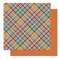 Photo Play Paper - Autumn Greetings Collection - 12 x 12 Double Sided Paper - Lumberjack
