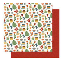 Photo Play Paper - Autumn Greetings Collection - 12 x 12 Double Sided Paper - Snuggle Up