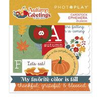 Photo Play Paper - Autumn Greetings Collection - Ephemera