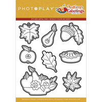 Photo Play Paper - Autumn Greetings Collection - Dies