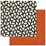 Photo Play Paper - All Hallows Eve Collection - 12 x 12 Double Sided Paper - Ghosts and Goblins