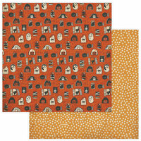 Photo Play Paper - All Hallows Eve Collection - 12 x 12 Double Sided Paper - Haunted House