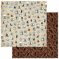 Photo Play Paper - All Hallows Eve Collection - 12 x 12 Double Sided Paper - Creepy