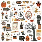 Photo Play Paper - All Hallows Eve Collection - 12 x 12 Cardstock Stickers