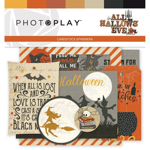 Photo Play Paper - All Hallows Eve Collection - Ephemera