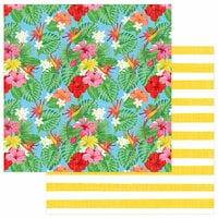 Photo Play Paper - Aloha Collection - 12 x 12 Double Sided Paper - Tropical Garden
