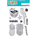 Photo Play Paper - Aloha Collection - Clear Acrylic Stamps