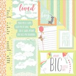 Photo Play Paper - About a Little Boy Collection - 12 x 12 Double Sided Paper - It's A Boy