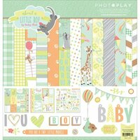 Photo Play Paper - About a Little Boy Collection - 12 x 12 Collection Pack