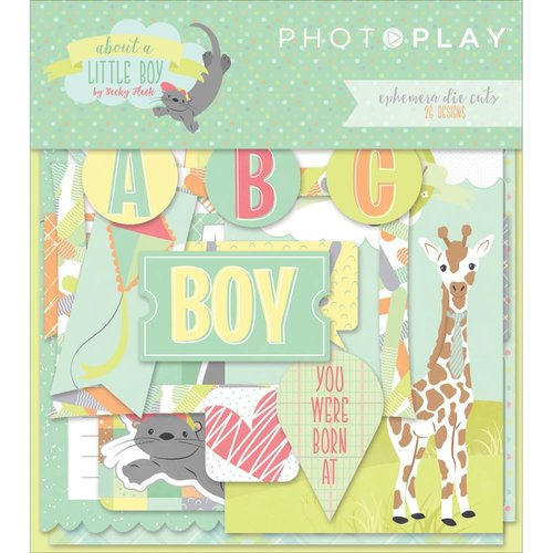 Photo Play Paper - About a Little Boy Collection - Ephemera