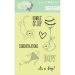 Photo Play Paper - About a Little Boy Collection - Clear Acrylic Stamps