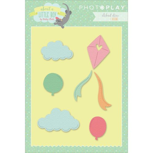 Photo Play Paper - About a Little Boy Collection - Die Set