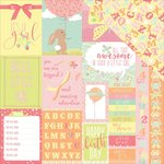 Photo Play Paper - About a Little Girl Collection - 12 x 12 Double Sided Paper - It's A Girl