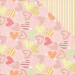 Photo Play Paper - About a Little Girl Collection - 12 x 12 Double Sided Paper - So Sweet