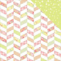 Photo Play Paper - About a Little Girl Collection - 12 x 12 Double Sided Paper - Wee One