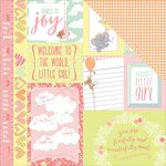 Photo Play Paper - About a Little Girl Collection - 12 x 12 Double Sided Paper - Precious