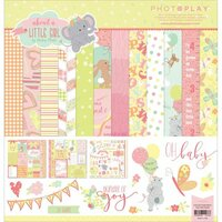 Photo Play Paper - About a Little Girl Collection - 12 x 12 Collection Pack