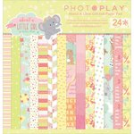 Photo Play Paper - About a Little Girl Collection - 6 x 6 Paper Pad