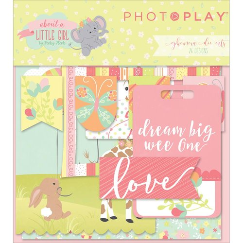 Photo Play Paper - About a Little Girl Collection - Ephemera