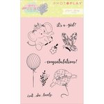 Photo Play Paper - About a Little Girl Collection - Clear Acrylic Stamps