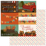 Photo Play Paper - Autumn Orchard Collection - 12 x 12 Double Sided Paper - Blessed