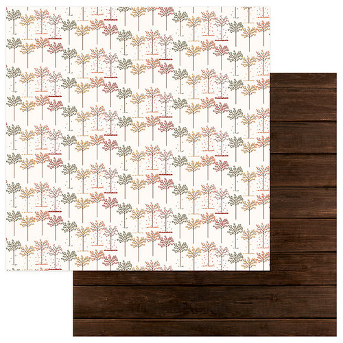 Photo Play Paper - Autumn Orchard Collection - 12 x 12 Double Sided Paper - Giving
