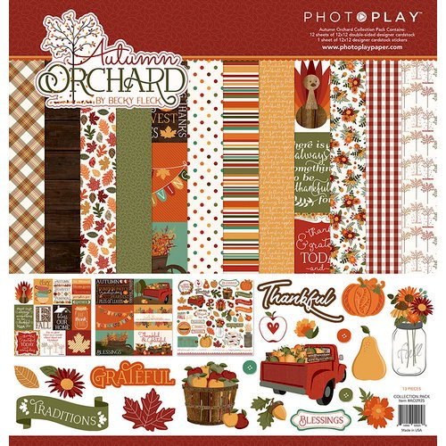 Photo Play Paper - Autumn Orchard Collection - 12 x 12 Collection Pack
