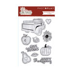 Photo Play Paper - Autumn Orchard Collection - Clear Acrylic Stamps