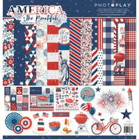 Photo Play Paper - America The Beautiful Collection- Collection Pack