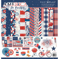 Photo Play Paper - America The Beautiful Collection - 12 x 12 Collection Pack