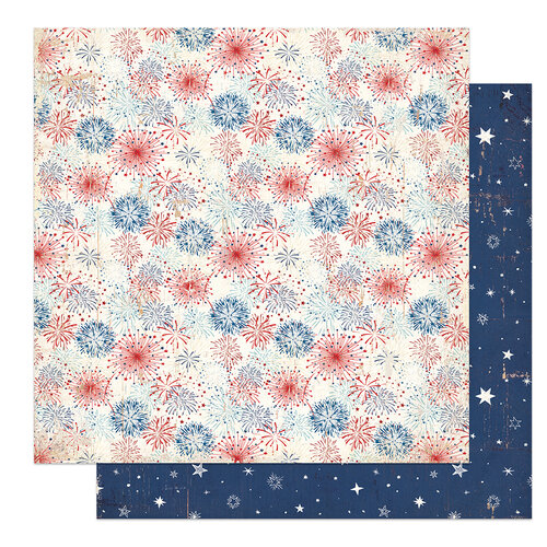 Photo Play Paper - America The Beautiful Collection- 12 x 12 Double Sided Paper - Celebrate