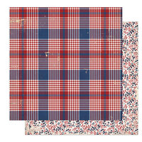Photo Play Paper - America The Beautiful Collection- 12 x 12 Double Sided Paper - Barbecue
