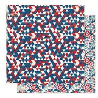 Photo Play Paper - America The Beautiful Collection- 12 x 12 Double Sided Paper - USA