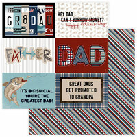 Photo Play Paper - Best Dad Ever Collection - 12 x 12 Double Sided Paper - Gr8 Dad