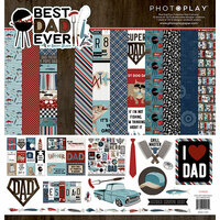 Photo Play Paper - Best Dad Ever Collection - 12 x 12 Collection Pack