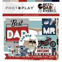Photo Play Paper - Best Dad Ever Collection - Ephemera