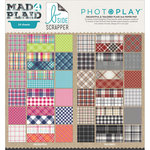 Photo Play Paper - Mad 4 Plaid Collection - 6 x 6 Paper Pad