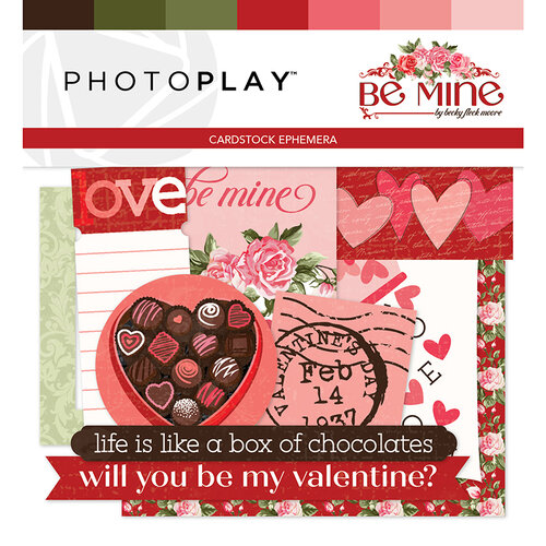 Photo Play Paper - Be Mine Collection - Ephemera